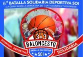 'VI Batalla Solidaria deportiva de las Fiestas de Carthagineses y Romanos: Torneo 3x3 de baloncesto'