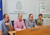 Presentación V Timoncap travesía internacional máster de otoño a nado Cabo de Palos