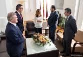 Visita del minisitro de fomento, José Luis Ábalos, a Cartagena