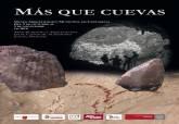 Cartel  'Mas que cuevas. Arte Rupestre y Arqueología en el cañón de Almadenes'