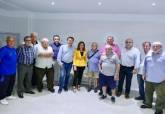 Visita a los nuevos vestuarios de Urbanización Mediterráneo