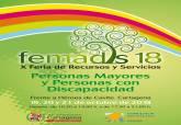Cartel 'Feria de recursos y servicios para personas mayores y personas con discapacidad- Femadis 18'