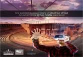 Cartel Visita Virtual al Teatro Romano de Cartagena: nuevas experiencias. 27 de octubre