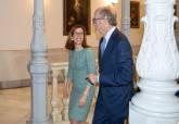 Visita del presidente de Repsol a Cartagena