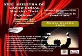 XXII Muestra de Canto Coral 'Maestro José Espinosa'