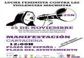 Convocatoria de manifestación 25 de noviembre