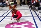 Acto para conmemorar el día Internacional contra la violencia de género en el Patio de los Ayuntamiento de la Asamblea