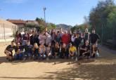 Los jóvenes europeos del Erasmus aprenden a jugar a los bolos cartageneros
