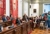 Pleno extraordinario del 40 aniversario de la Constitución Española