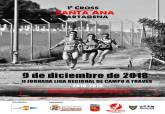 Cartel del I Cross Santa Ana