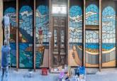 Mural en la Calle Cuatro Santos