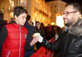 3.000 trozos de roscón de Reyes en el Palacio Consistorial