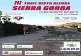 Cartel de el III Trail Vista Alegre-Sierra Gorda