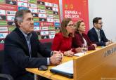 Presentación del partido de fútbol de la Selección Absoluta Femenina contra Bélgica