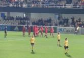 Partido amistoso de las selecciones absolutas femeninas de España y Bélgica en el Cartagonova