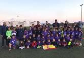 Actividades promocionales del encuentro por parte de la Concejalía de Deportes en escuelas deportivas y colegios