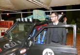 David Martínez junto a la escudería 'Cartagena Panda Racing'