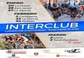 Cartel Trofeo Interclub Ciclista Campo de Cartagena – Mar Menor