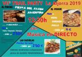 Fiesta en bares Trail La Aljorra
