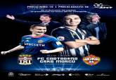 Partido amistoso del FC Cartagena contra el CSK de Moscú