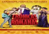Cartel 'Crónicas Romanas' - Cartagena Puerto de Culturas