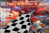 Cartel XV Torneo Intercentros de Ajedrez