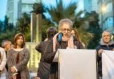 Inauguración del monumentos a los cartageneros víctimas de los campos de concentración nazis