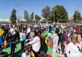 Inauguración del Parque de Pocoyó en Nueva Cartagena