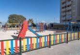 Parques infantiles Playa Honda y Playa Paraíso