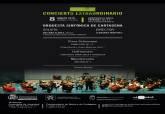 Cartel VIII edición del Concierto Extraordinario Entre Cuerdas y Metales