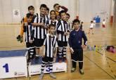 Fase Municipal de Fútbol Sala Juvenil, Benjamín y Prebenjamín en el Palacio de Deportes