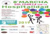 Cartel 8ª Marcha Solidaria por la Hospitalidad