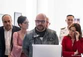 Inauguración de la exposición 'La Mirada ubicua 1992-2018' del fotógrafo José Albaladejo Ros