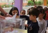 Votaciones de los presupuestos participativos en los diferentes centros educativos