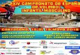 Campeonato de España de Voleibol infantil masculino 2019