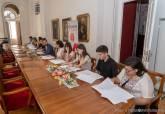 Firma de los contratos del programa Expeura