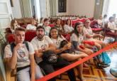 Visita CEIP San Ginés de la Jara, CEIP Miguel de Cervantes, IES Mediterráneo Presupuestos Participativos al Palacio Consistorial