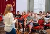 Recepción jóvenes Programa 'Garantiza tu garantía juvenil'