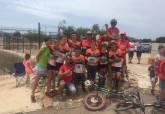 Escuela trial bici Cartagena 3º prueba campeonato regional