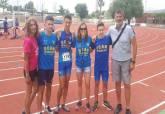 Competiciones del UCAM Atletismo Cartagena 8-9 junio