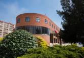 Centro Cultural Ramón Alonso Luzzy, sede de los cursos de idiomas de la UP