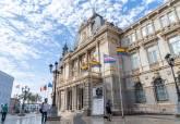 Banderas LGTBI y Trans en el Palacio Consistorial