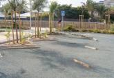 El aparcamiento de la Gola de La Manga estrena dos puntos de recarga para coches eléctricos