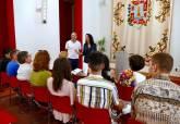Entrega de diplomas a alumnos de la ADLE de Erasmus +