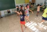 Visita concejala Educación Verano con Arte Escuelas de Verano