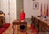 Mercedes García toma posesión como concejala en el pleno municipal