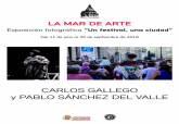 Exposición 'Un festival, una ciudad' 25 años La Mar de Musicas