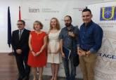 Inauguración del Curso de la Unversidad del Mar De Texto al eslógan