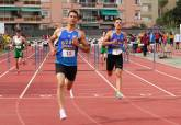 Pablo Díaz y Sergio Jornet, del UCAM Atletismo Cartagena