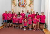 Recepción de jugadoras Club Baloncesto Cartagena Palacio Consistorial